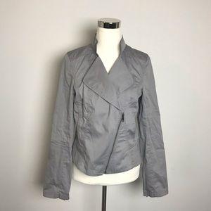 Halogen Light Gray Lightweight Moto Jacket